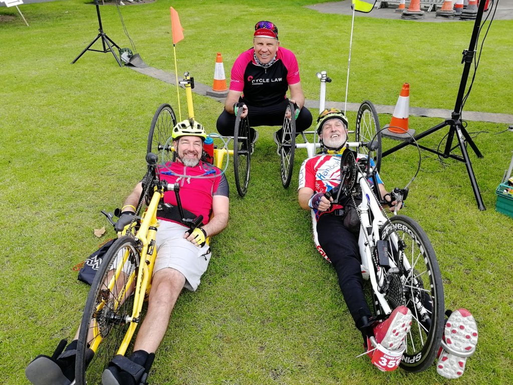 Tour O the Borders with Mike and Rod Mitchell (Cycle Law Scotland)